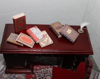 Dollhouse Miniature set of classic books ... set n. 1