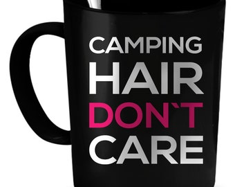 Camping Coffee Mug 11 oz. Perfect Gift for Your Dad, Mom, Boyfriend, Girlfriend, or Friend - Proudly Made in the USA! Camping gift