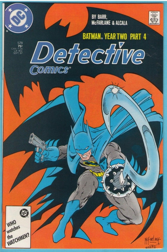 Detective Comics 578 Sep 1987 NM- (9.2)