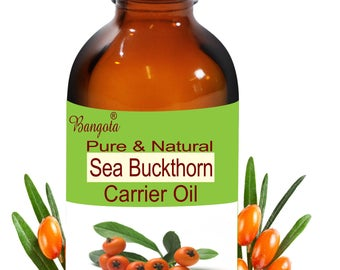 Sea Buckthorn Oil - Pure & Natural Carrier Oil