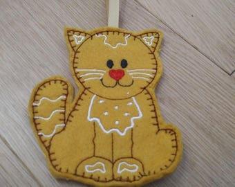 Gingerbread kitty