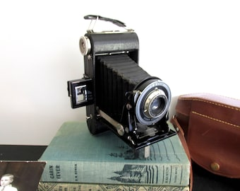 Vintage Kodak Jr. Six - 20 Series III Folding Camera Eastman Kodak Company Bellows Camera Photography