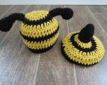 Crochet Bumble Bee Set