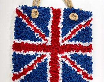Proggy® Union Jack Bag Rag Rug Kit