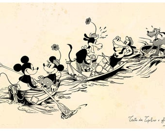 Mickey and Gypsies 1932
