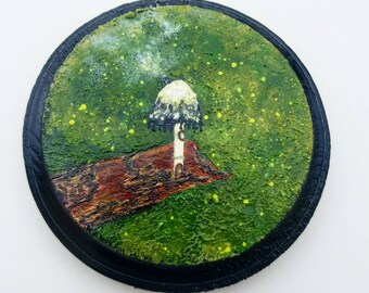 Look closer.                                                    Mini acrylic painting