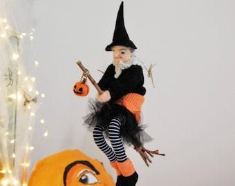 Halloween Witch, Art Doll, Halloween decoration