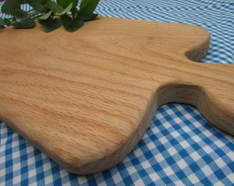 Red Oak Cutting Board, Bread Board, Hardwood, @ 9 x 16 inches Tennessee grown, harvested, milled, made by a 14 year old, Christmas gift