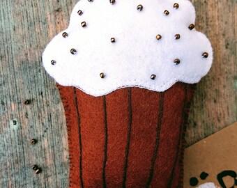 Very tasty looking cupcake badge