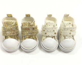 1/6 BJD YOSD Doll Boots for Interior Textile Dolls,Fashion Doll Shoes 5CM Footwear for Doll,Mini Sneakers for Dolls
