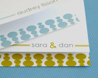 personalized stationery set - personalized stationary set - thank you note - couple stationery - couple stationary - balancing stones