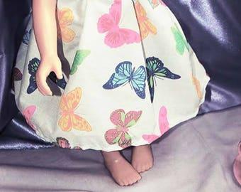 Butterfly Dolls Dress