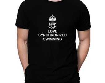 Keep Calm And Love Synchronized Swimming T-Shirt