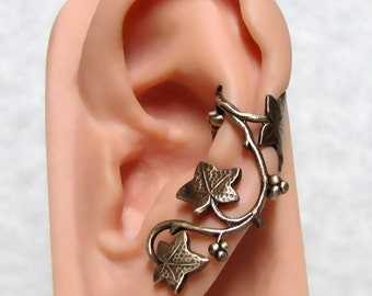 Forest Ivy Ear Cuff ' Left Ear '