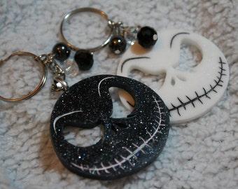 Keychain and Magnets Jack Skellington!!