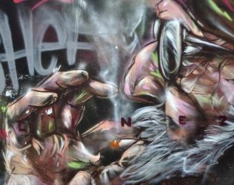 Now that's grafitti!