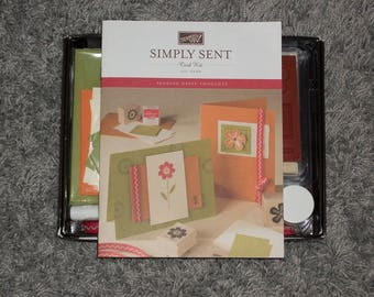 Simply Sent Sending Happy Thoughts Card Kit Stampin' Up! RETIRED - Free Shipping