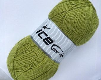 Merino Ice yarn Gold Merino 1 ball