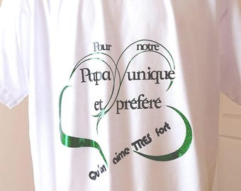 """""""For our favorite and unique Dad"""" men's T-shirt"""