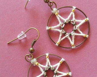 Metal 7 pointed star shape