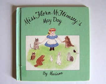 Miss Flora McFlimsey's May Day by Mariana - Children's Book - Dolls - Queen of the May