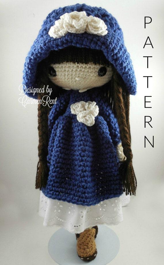 Matilda Amigurumi Doll Crochet Pattern Pdf