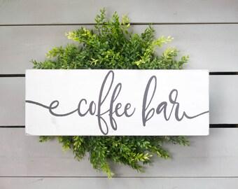 Coffee Bar Sign, Coffee Sign, Coffee Bar Decor, Coffee Bar, Kitchen Coffee Decor, Kitchen Coffee Sign, Farmhouse Coffee Sign