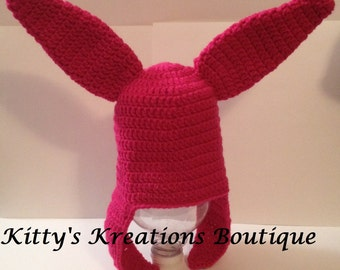 Big Eared Beanie/ Hat from Cartoon  - Any Size