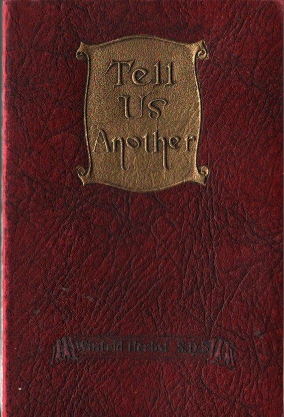 Tell Us Another Stories That Never Grow Old + Winfrid Herbst S. D. S. + 1925 + Vintage Kids Religious Book