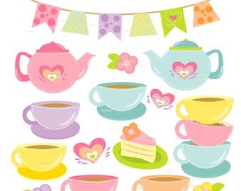 tea tea party rose tea party royal tea party clip art rh etsy com tea party clipart tea party clip art free downloads