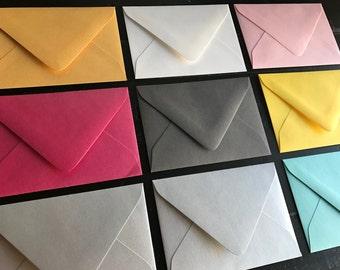 RSVP Envelopes: set of 25 (Metallic White Pearl Finish is Standard)
