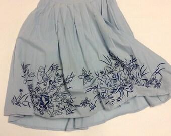 SALE Happy Flirty Cotton Skirt