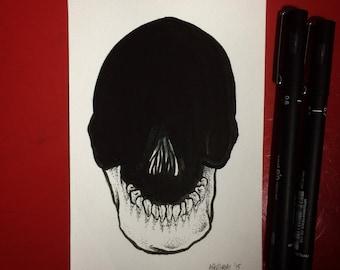 Inktober 2015 Day #15 - (Original drawing)