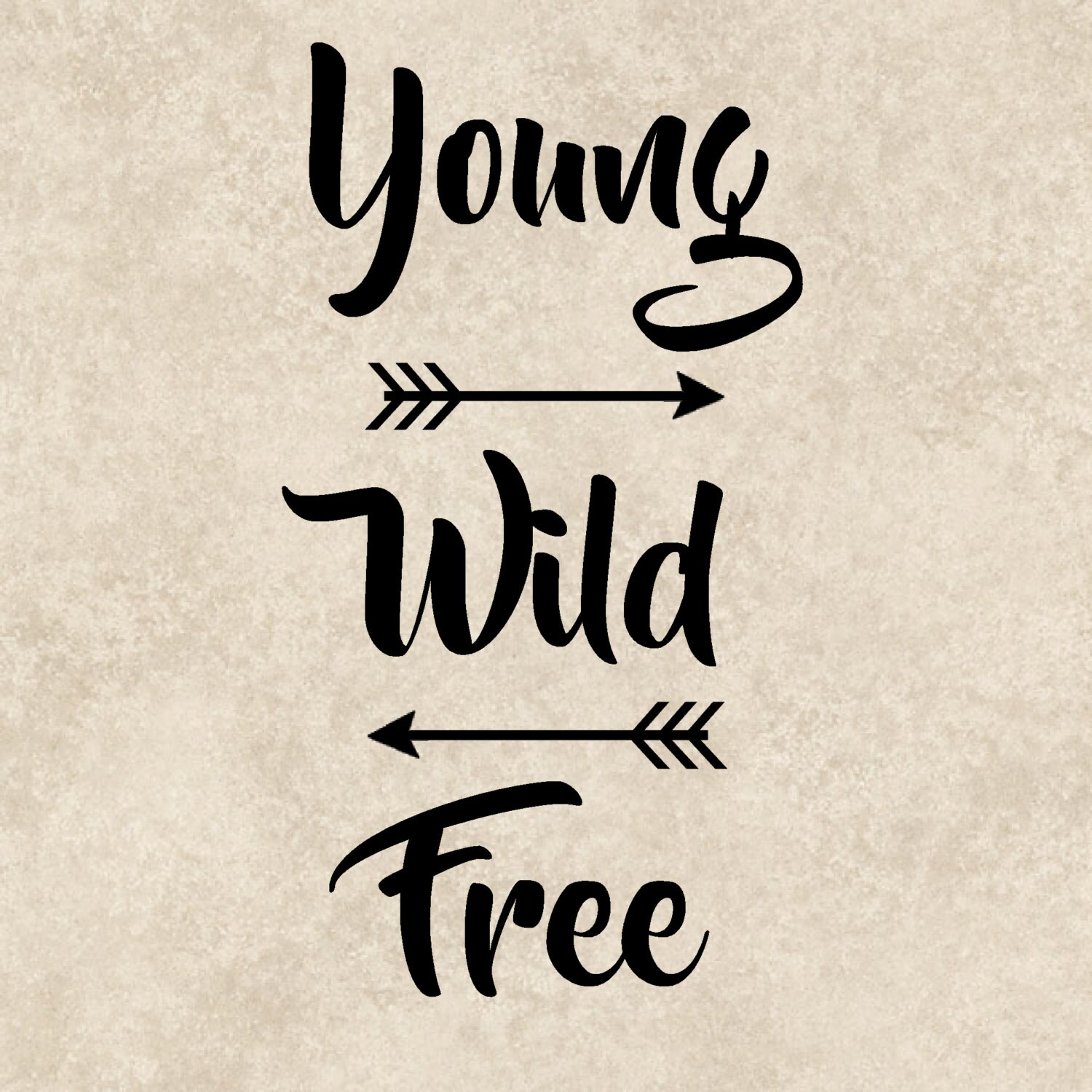 Free Quote Young Wild Free Sticker Young Wild Free Car Sticker Young Wild