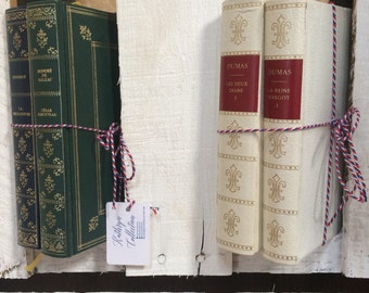 Set of four Alexandre Dumas novels 1967 edition - French language