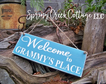 Welcome Signs, Welcome, Personalized Signs, Porch Decor, Door Decor, Wood Signs, Handpainted, Personalized Signs, Rustic