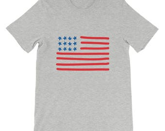 4th of July Short-Sleeve Unisex T-Shirt, Independence Day, Men's T-Shirt, Women's T-Shirt