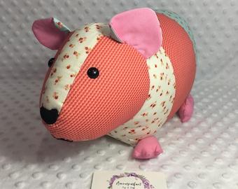 Gertrude the Guinea Pig - Ready to send.