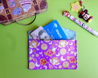 Cute Sailor Moon Card Holder Mini Coin Purse Wallet Anime