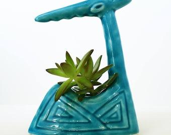 Succulent Planter, Home Decor, Handmade Ceramic Mini Planter, Blue Pottery, Succulent Planter, Succulent Pot, Gift, Ceramic Pot, Planter