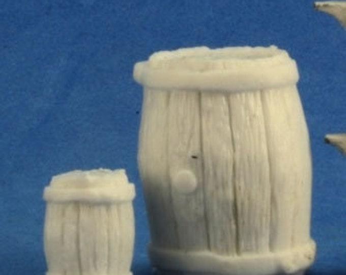 Large Barrel Small Barrel - 77249 - Reaper Miniatures