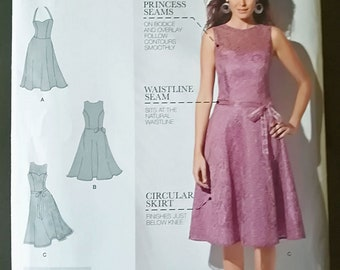 Simplicity Amazing Fit 1606 Uncut Sewing Pattern - Three Women Dresses, Sizes 4-12