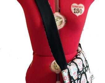 Star Wars Sugar Skulls messenger bag, padded and reversible