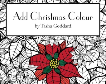 Add Christmas Colour: A Printable Colouring Book for the Festive Season
