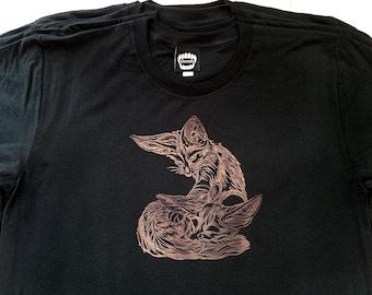 Fennec Foxes  / Black / Men's T-shirt