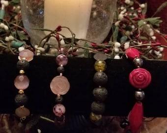 Choose 1 of 4 Stretch Aromatherapy Bracelets