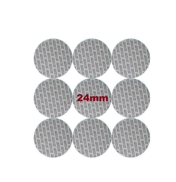 24 mm Pressure Sensitive PS Foam Cap Liners Seal Tamper Seal Sealed for your Protection US Seller