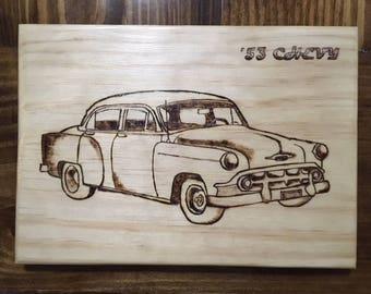 Custom Wood Burning Plaque