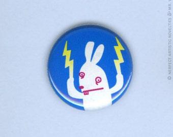 "Berwyn Bunny 1"" Pin-Back Button"