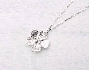 Silvered cherry blossom